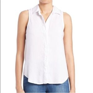 CLOTH & STONE ANTHROPOLOGIE button down tank top